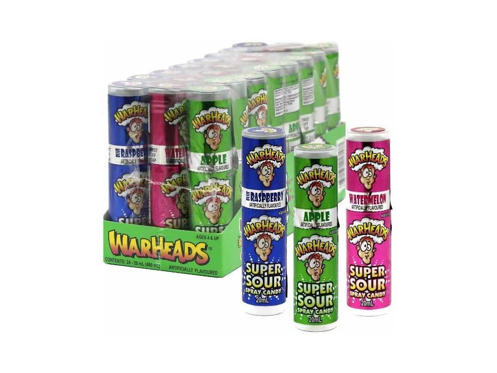 Warheads Super Sour Spray Candy 20ml