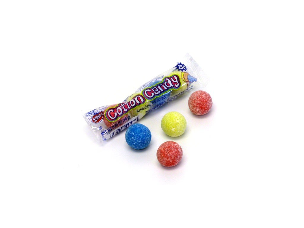 dubble bubble 4 piece cotton candy pkg 1