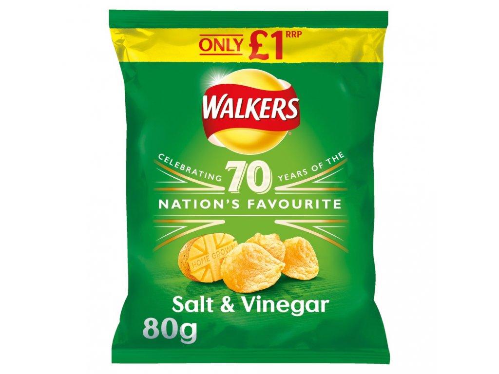 Walkers Salt And Vinegar 80g