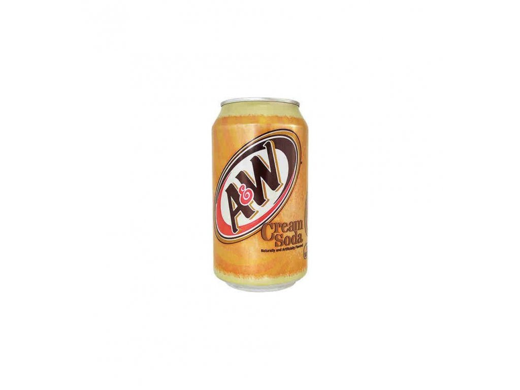aw cream soda boisson americaine