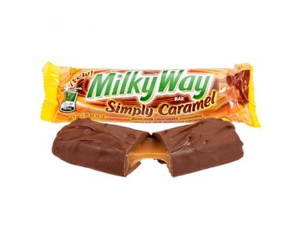 milky way simply caramel candy bars 128560