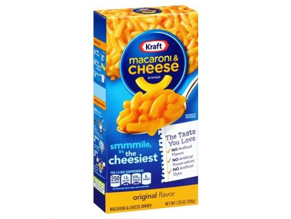 KRAFT MAC and CHEESE DINNER 204G