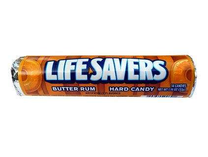 Lifesavers Butter Rum 32g