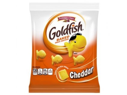 pepperidge farm goldfish cheddar small