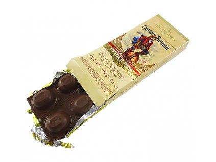 Goldkenn Mléčná čokoláda plněná Captain Morgan 100g