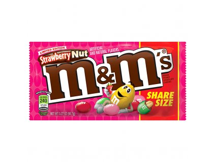 m and ms strawberry nut share size 92g 800x800