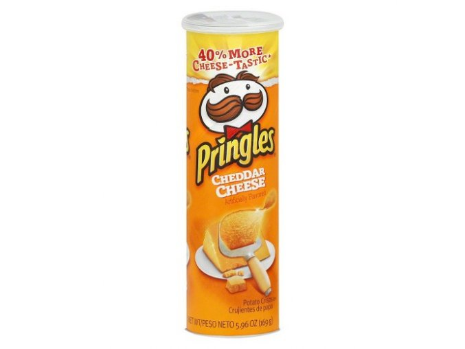 Pringles Cheddar Cheese 169g