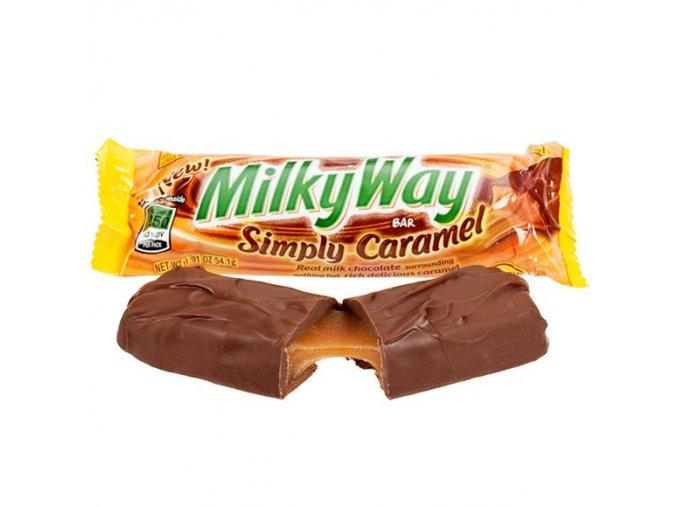 milky way simply caramel candy bars 128560