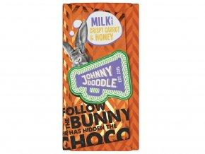 milk crispy carrot and honey