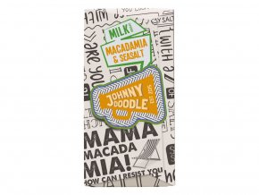 Johnny Doodle Milk Macadamia & Seasalt 180g
