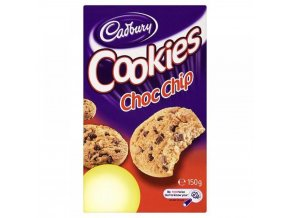 Cadbury Choc Chip Cookies 150g 3