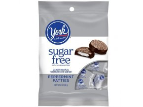 netr hershey s sugar free candy york peppermint patties 3 oz bag 1 grande