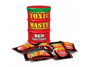 toxic waste red drum sour candy 800x800 800x800