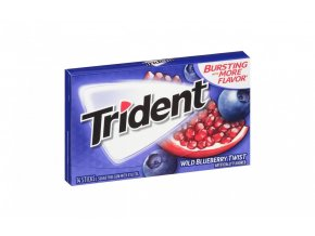 304 00059 trident sugar free gum wild blueberry twist 14piece