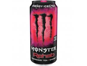 Monster Rehab Energy Raspberry Iced Tea 16 oz