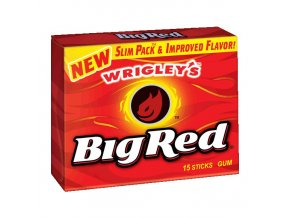 wrigleys big red gum slim packs